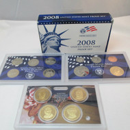 2008 United States  Mint Proof Set 14 piece 3 Tray