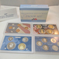 2009 United States  Mint Proof Set 18 piece 4 Tray