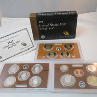 2011 United States  Mint Proof Set 14 piece 3 Tray