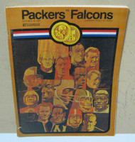 1969 Green Bay Packers vs Atlanta Falcons Football Program