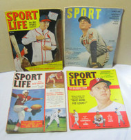 Sport Life Feb 1950 July 1951 May 1949 & Sport 1950 Magazine Lot