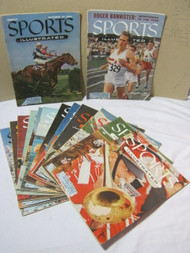 1954 & 1955 Sports Illustrated Lot of 14 Magazines 1950's