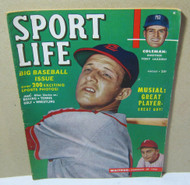 Sport Life Magazine Aug 1950 Baseball Issue Stan Musial