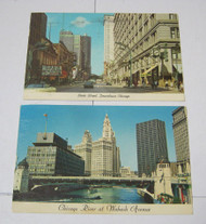 1960's & 1970's Downtown Chicago Views Postcards