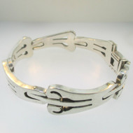 Sterling Silver Bracelet 7.5 Inches