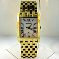 Bulova Watch Co. Accutron Gold Plated Stainless Steel Mens Watch (3005843CB)