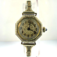 Vintage Elaine Watch Co. 6 Jewels 14k Gold Filled Watch (3005836CB)