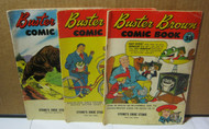 Buster Brown Comic Books Lot Stone Shoe Store Schwinn Bike