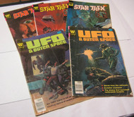 Star Trek  UFO& Outer Space Whitman Comic Book Lot of 5