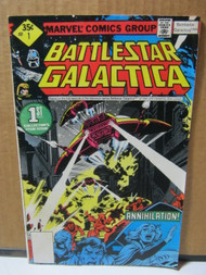 Battlestar Galactica #1 Marvel Comic Book 1978