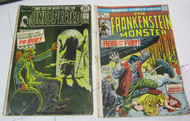 The Unexpected DC Comic #126 Frankenstein Monster Marvel #7