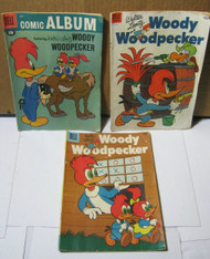 Woody Woodpecker Dell Comic Books #21 #13 #40