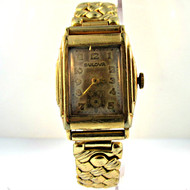 Vintage Bulova Watch Co. 15 Jewels Gold Filled Watch Parts Steampunk (3005865CB)