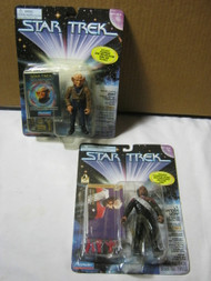 Star Trek Grand Nagas Zek & Lt. Commander Worf Figures