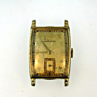 Vintage Hamilton 17 Jewels 10k Gold Filled Watch Case Movement and Dial Parts Steampunk (3005949CB)