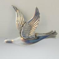 Sterling Silver Lang Flying Bird Pin Brooch