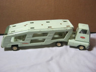 Tonka Vintage Pressed Steel Toy Transport Car Carrier Truck & Trailer