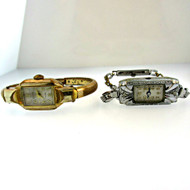 Vintage Berger 17 Jewels and S. Kocher 17 Jewels Ladies Watches Parts Steampunk (3006315CB)