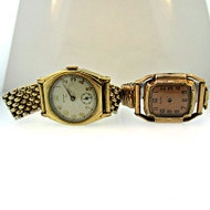 Vintage Lady Elgin 15 Jewels and Dagot Watch Co. EMCA 7 Jewels Parts Steampunk (3006316CB)