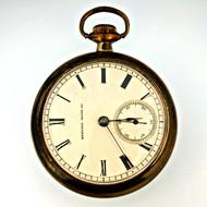 Antique 1884 Hampden W.R. Bell 11 Jewels 18s Gold Filled Pocket Watch (3006331CB)