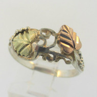 Sterling SilverBlack Hills Gold Coleman Co Ring Size 7.5