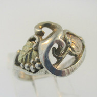 Sterling SilverBlack Hills Gold Coleman Co Ring Size 5.25