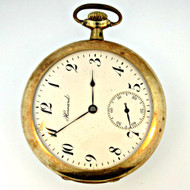 Antique 1909 E. Howard Watch Co. 17 Jewels 12s Gold Filled Pocket Watch (3006321CB)