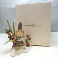 Lenox Garden Bird Collection Fine Porcelain 1990 Marsh Wren with Original Box