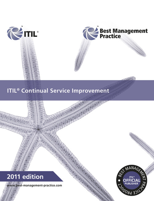 ITIL Continual Service Improvement Book