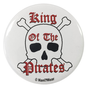 One Piece Inspired Button: King of the Pirates