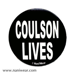 SHIELD Inspired Button: Coulson Lives