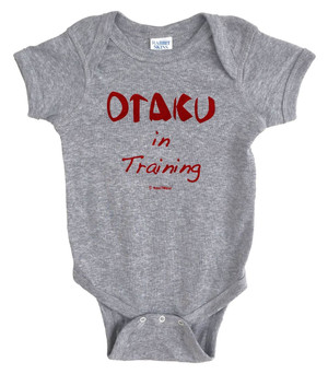Anime Baby Onesie Otaku in Training