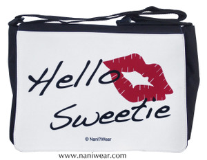 Doctor Who Inspired Large Messenger/Laptop Bag: Hello Sweetie