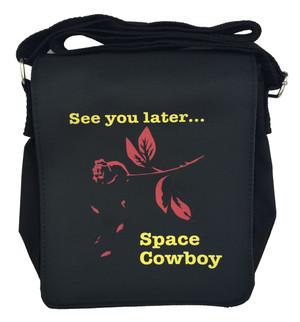 Cowboy Bebop Inspired Small Messenger Bag: Space Cowboy