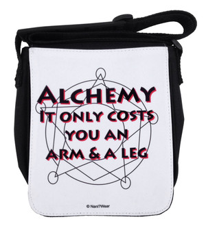 Fullmetal Alchemist Inspired Small Messenger Bag: Alchemy
