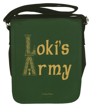 Loki Small Messenger Bag: Loki's Army