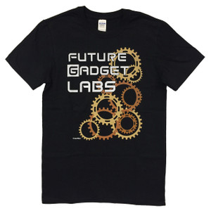 Steins;Gate anime t-shirt Future Gadget Labs