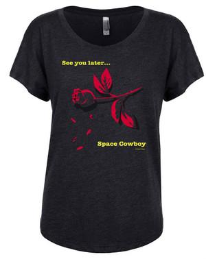 Cowboy Bebop Women's Dolman T-Shirt Space Cowboy