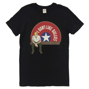 Captain America Geek T-Shirt I Don't Like Bullies