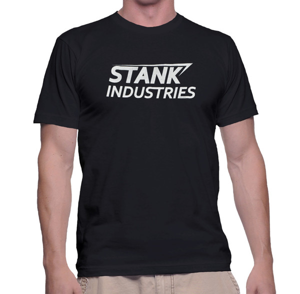 Tony Stark Civil War T-Shirt: Stank Industries