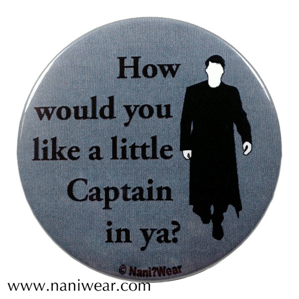 Captain Jack Inspired Button: like a Little Captain in ya?