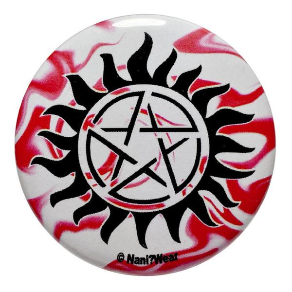 Supernatural 2.25 Inch Anti-Possession Button