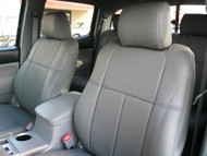 Tacoma Clazzio Seat Cover All Grey Leather