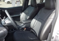 2016 Prius Clazzio Seat Covers All Black Front Seats