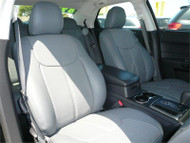 Clazzio Seat Covers - Photo does not necessary indicate and represents the specific car make and model. Front.