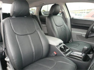 Dodge Magnum - Clazzio Seat Cover - All Black Front