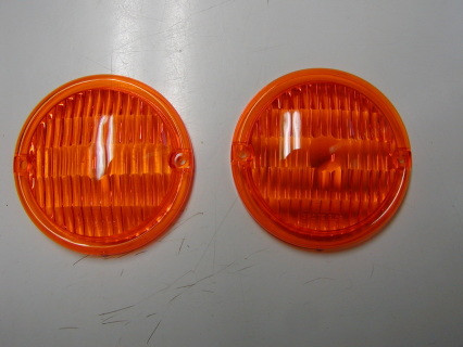 Park light lens 61-67 Dodge D100, D200 and others sold as SET