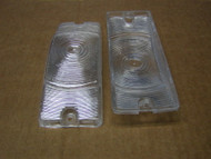 These lens can be used on the 1968 & 1969 Sweptline Trucks in replacement for the Amber color, in doing so you would or could use the LED Amber Bulbs