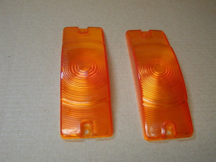 1968 & 1969 Park light lens, turn signal lens, not many in stock, limited supply, take the item off when none are left. some may have small air bubble imperfections