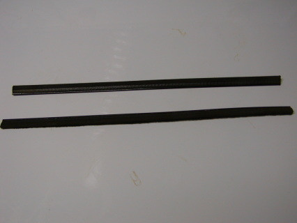 Cat Whiskers #1561229 are used 1 on the outside of the window on the 1954-1960 Dodge Trucks, also need window bumpers to complete the door factory set up, Cat Whiskers come with 4 clips for each side, come in Pairs